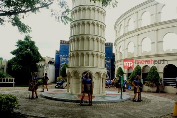 Wisata Berwawasan Pendidikan Wow Citra Raya Tangerang Merahputih Miniatur Menara