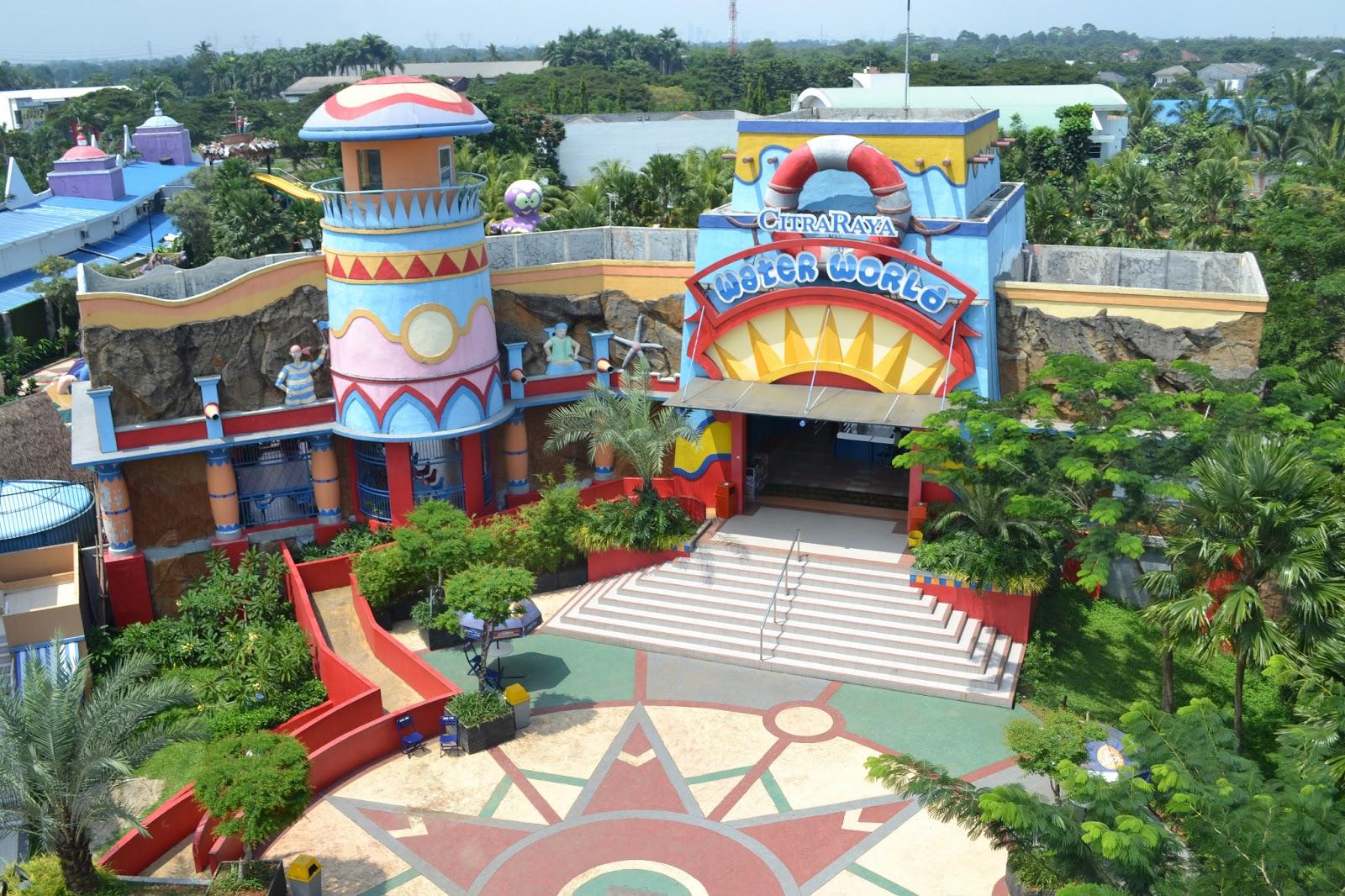 World Wonders Theme Park Citra Raya Cikupa Tangerang Water Dunia