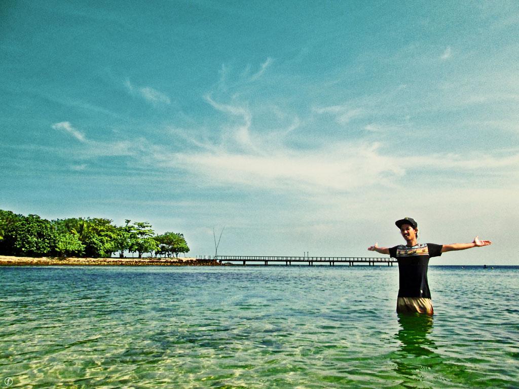 8 Foto Pantai Tanjung Lesung Pandeglang Banten Harga Tiket Masuk