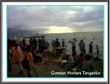 Goresan Mutiara Tanganku Kabupaten Tangerang Kawasan Wisata Pantai Tanjung Pasir