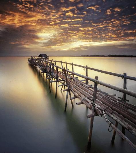 Lokasi Tiket Masuk Pantai Tanjung Pasir Teluk Naga Keindahan Burung