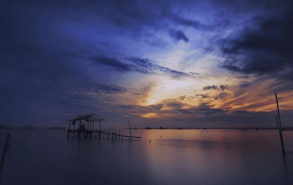 Lokasi Tiket Masuk Pantai Tanjung Pasir Teluk Naga Sunset Burung