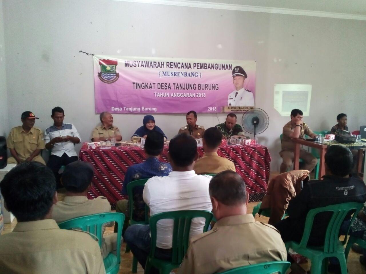 Musrembang Desa Tanjung Burung Tampung Aspirasi Masyarakat Kabupaten Tangerang Gelar