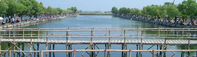 Pemancingan Mangrove Ift Pantai Tanjung Burung Kab Tangerang