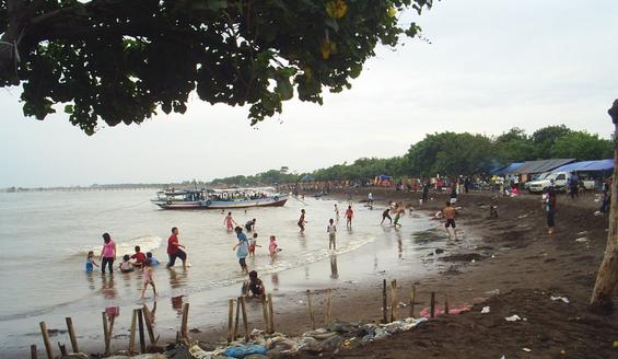 Pesona Wisata Pantai Tanjung Pasir Tangerang Tempat Burung Kab