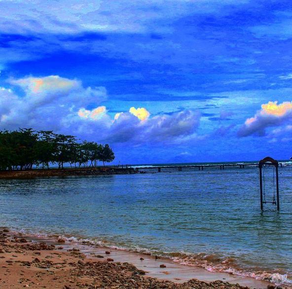 Rute Harga Tiket Masuk Pantai Tanjung Lesung Burung Kab Tangerang