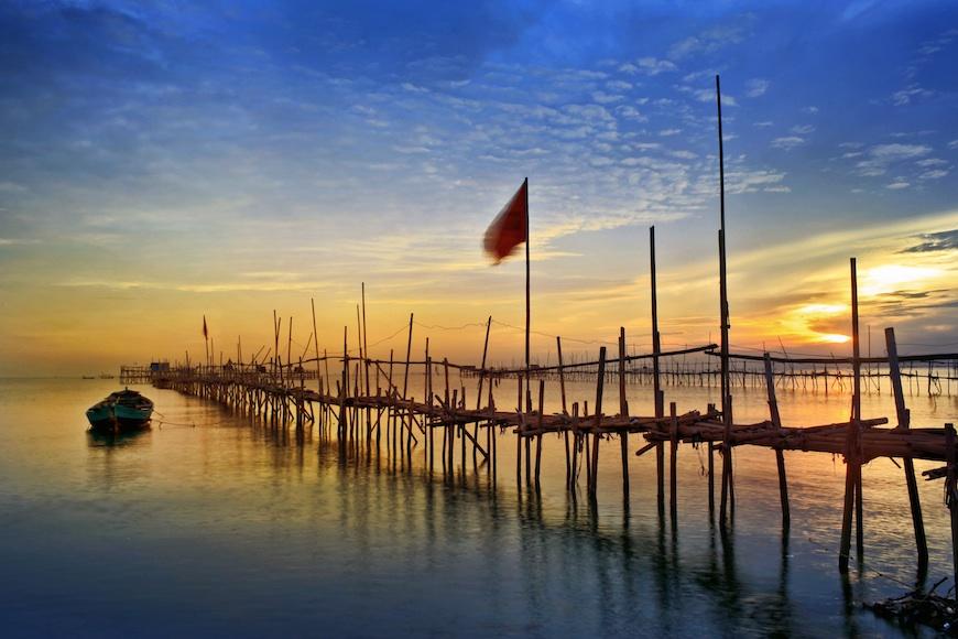 Tiga Tanjung Tangerang Www Metaonline Id Pantai Pasir Burung Kab