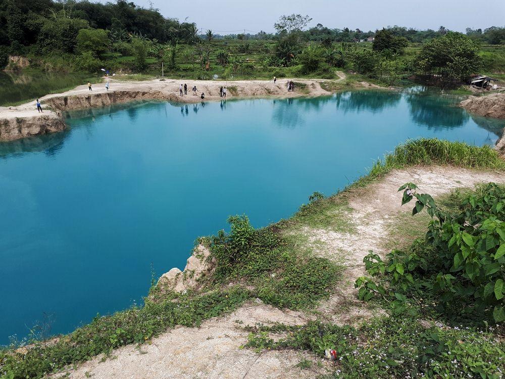 45 Tempat Wisata Tangerang Wajib Dikunjungi Waktu Liburan Telaga Biru