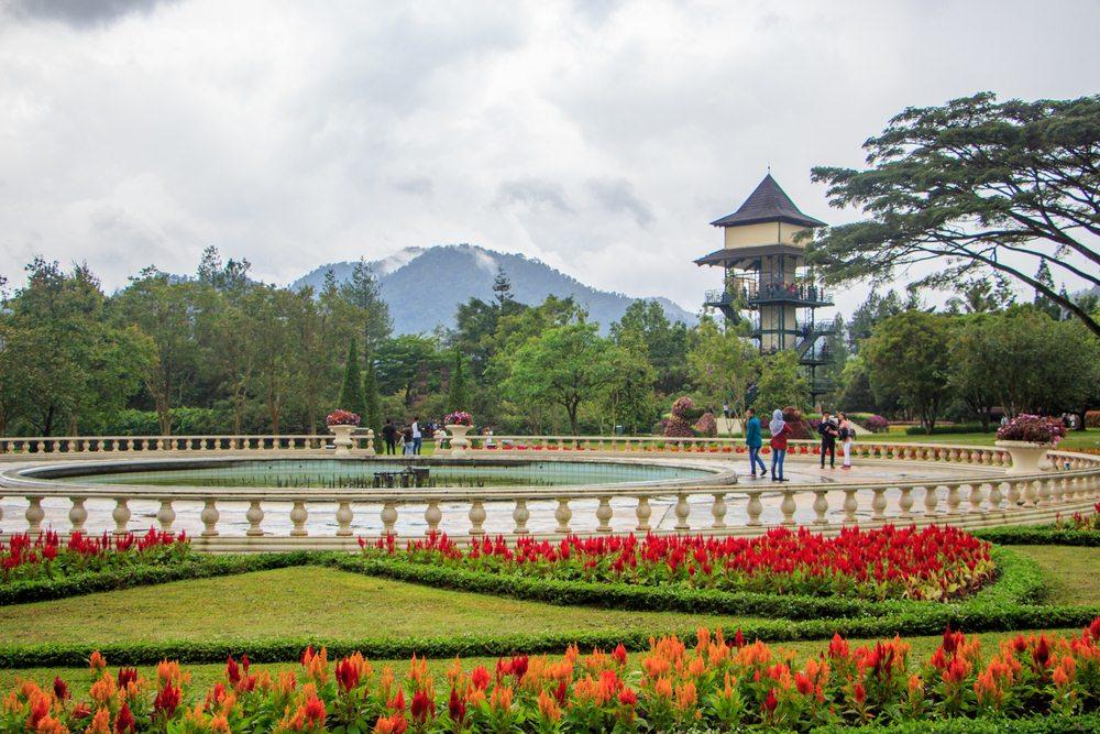 60 Tempat Wisata Bogor Kekinian Pilihan Traveloka 2017 Taman Bunga