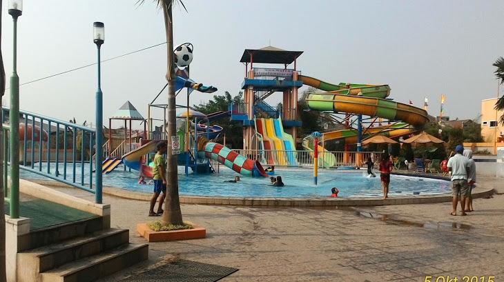 Pesona Wisata Air Waterpark Daerah Tangerang Banten 7 Dx Petualangan