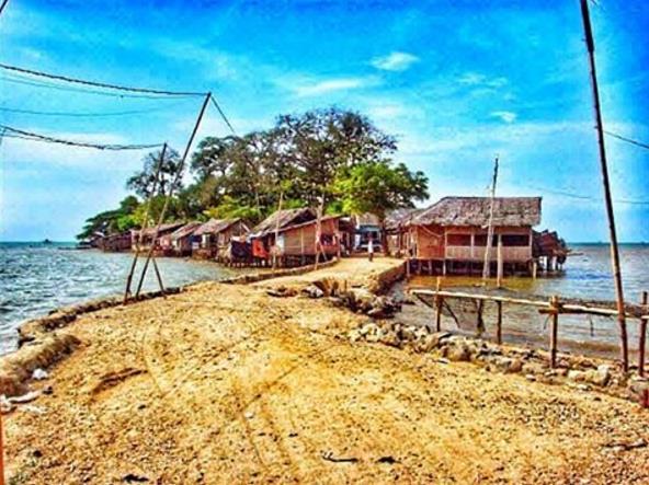 Asal Usul Wisata Pulau Cangkir Kronjo Tangerang Banten Religi Kab