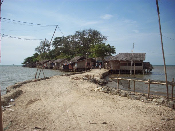 Kertas Kosong Objek Wisata Ketahui Indonesia Pulau Cangkir Kab Tangerang