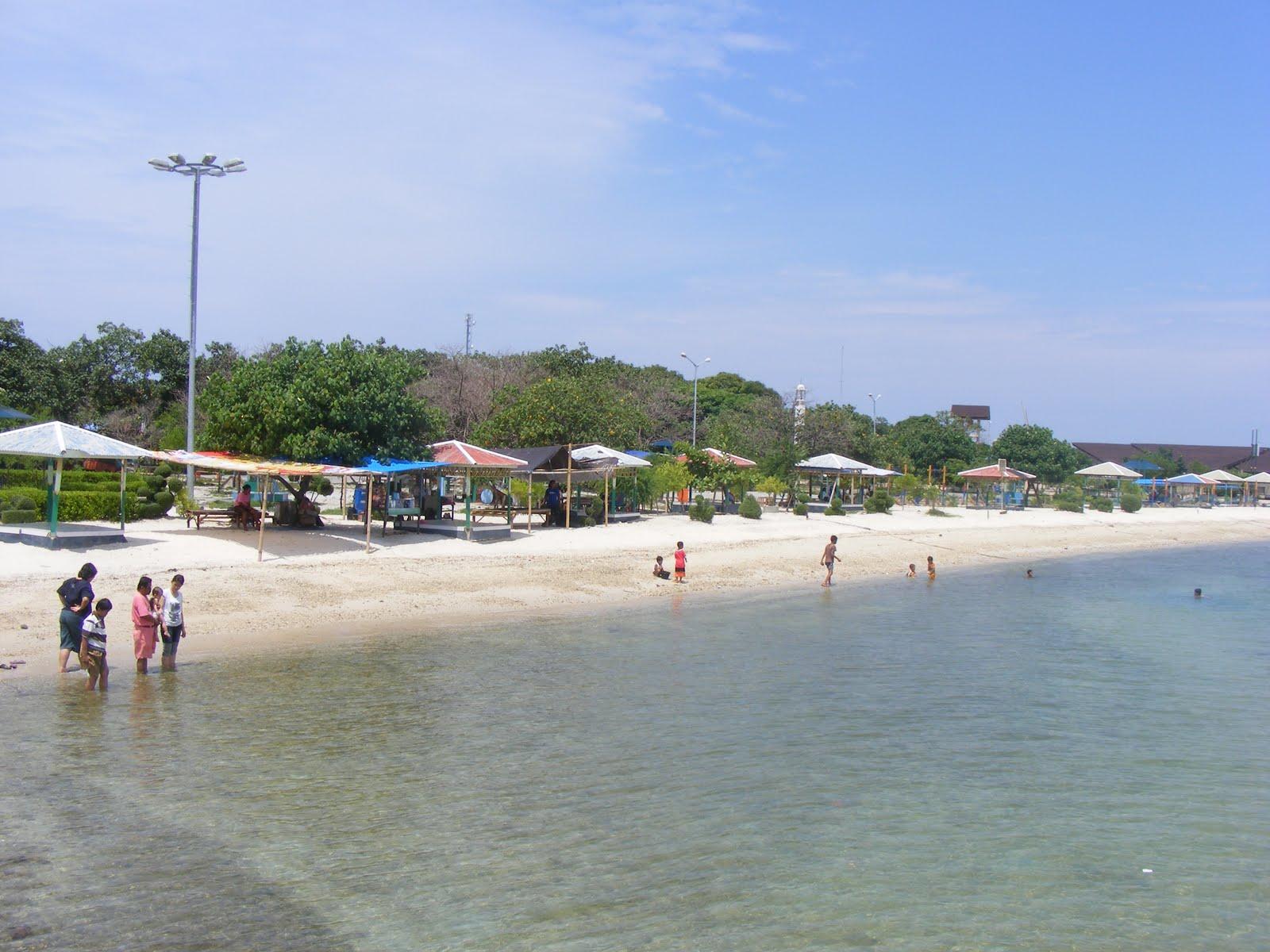 Mengamati Kepulauan Seribu Pantai Tanjung Pasir Wisata Jakarta Pulau Cangkir