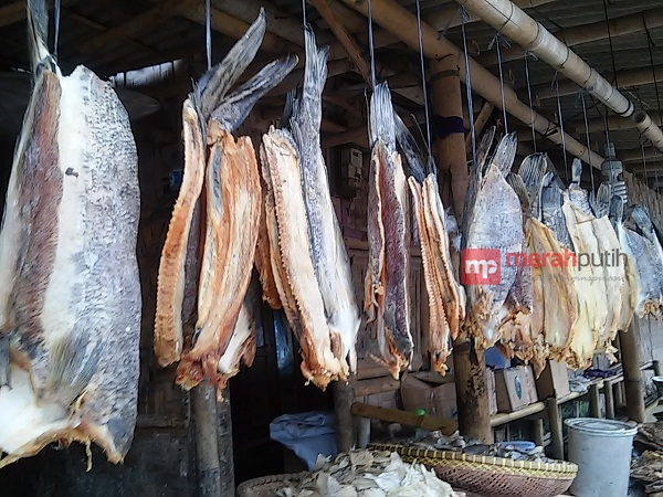 Nasib Pembuat Ikan Asin Keronjo Tangerang Merahputih Tempat Wisata Ziarah