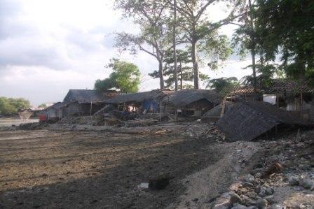 Observasi Abrasi Pantai Pulau Cangkir Utara Kab Timur Pulo Tangerang