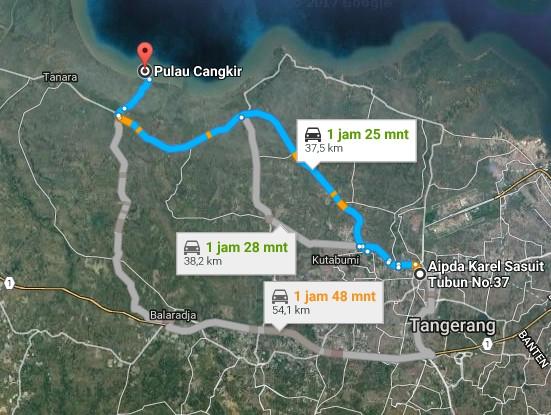 Pesona Keindahan Wisata Pulau Cangkir Kronjo Tangerang Banten Demikianlah Sedikit
