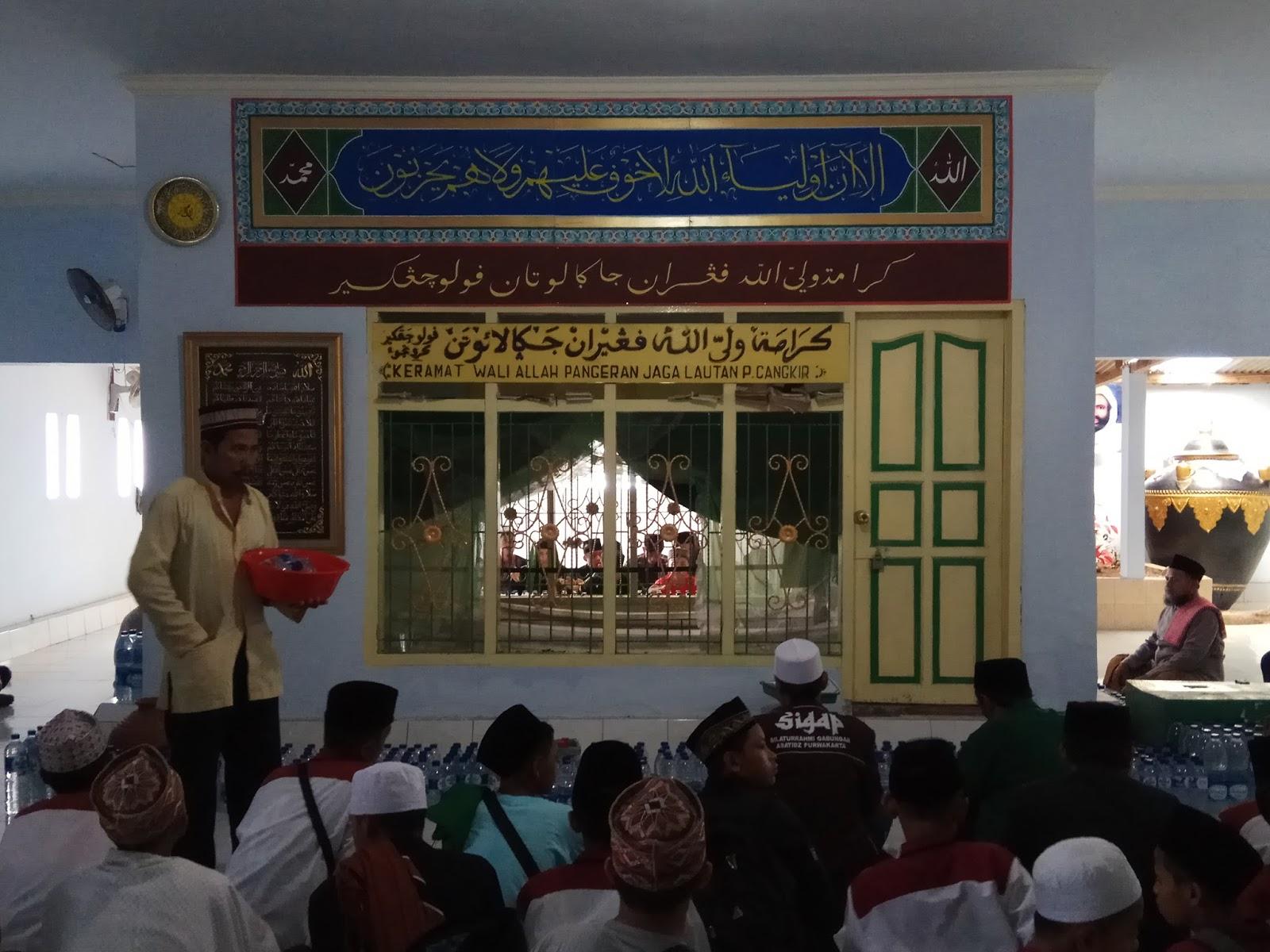 Syar Fud Wisata Pulau Cangkir Kronjo Tangerang Banten Terlatak Desa