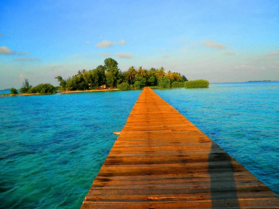 Wisata Pulau Cangkir Tangerang Satu Jam Kab
