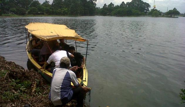 Bpn Cipondoh Milik Aset Daerah Tampak Warga Bermain Tangerangnews Dira