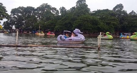 Cipondoh Danau Cantik Penghilang Dahaga Zona Libur Tangerang Kab