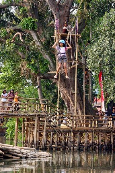 Kota Tangerang Goresan Penaku Objek Wisata Dikelola Oleh Forum Masyarakat