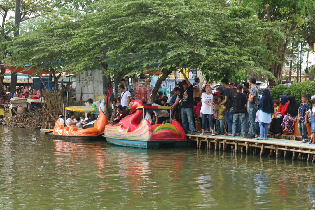 Lebaran Kedua Wisata Cipondoh Diserbu Bantensatu Img 20170626 Wa0012 Tangerang