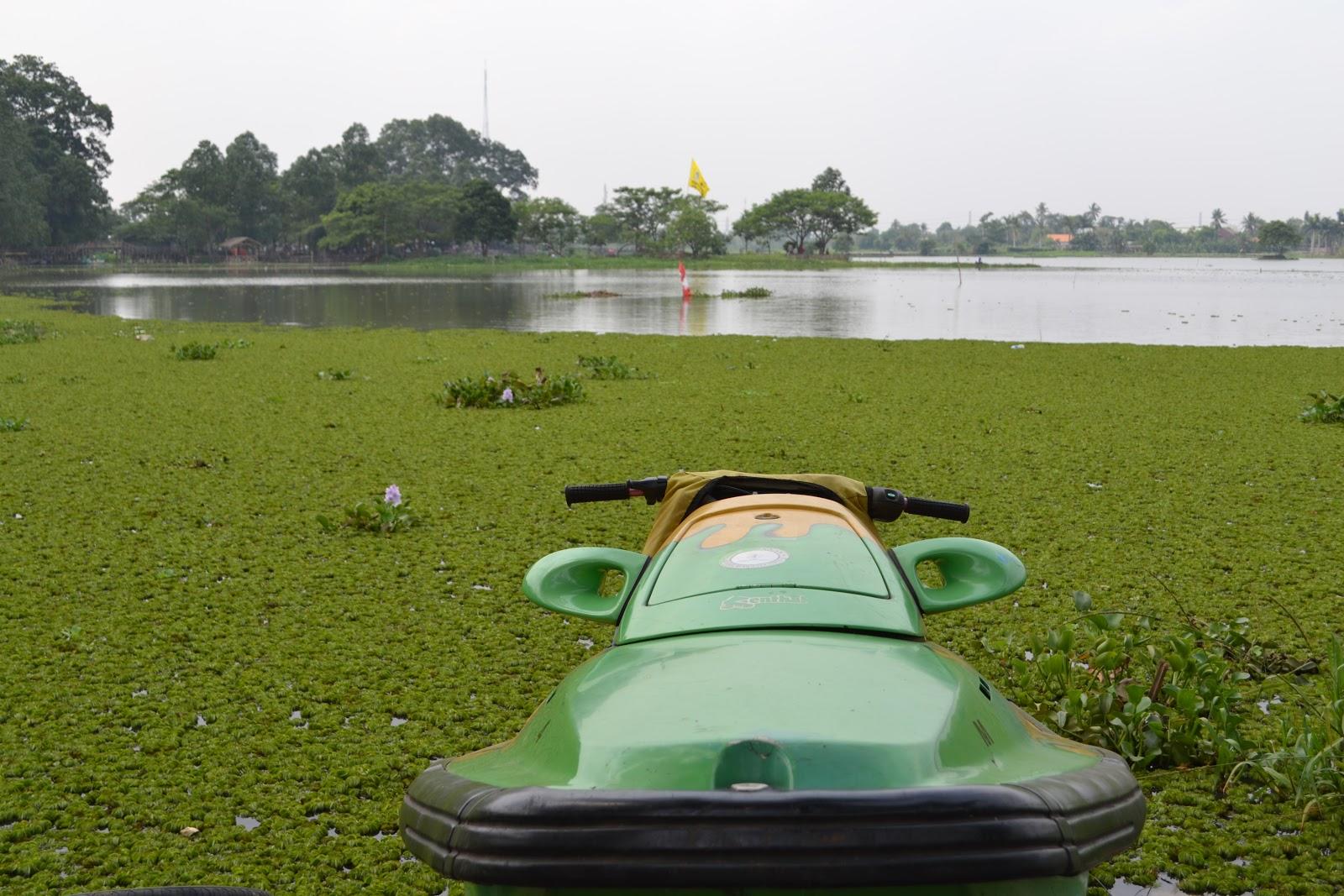 Rawa Cipondoh Kota Tangerang Batikbesurek Perahu Boat Kab