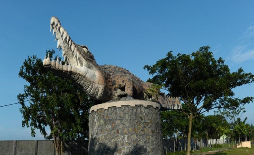 Menengok Kemesraan Buaya Taman Tanjung Pasir Tangerang Baca Kab