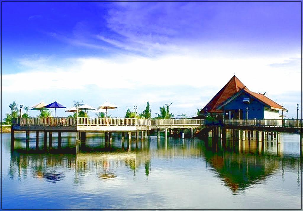 Taman Buaya Tanjung Pasir Mendidik Menghibur Dewi Sartika Obyek Wisata