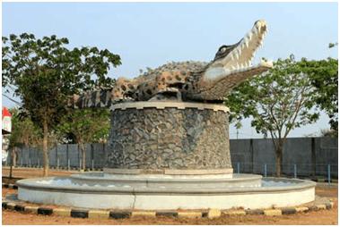 Taman Buaya Tanjung Pasir Tangerang Tepatnya Pesisir Utara Wilayah Kabupaten