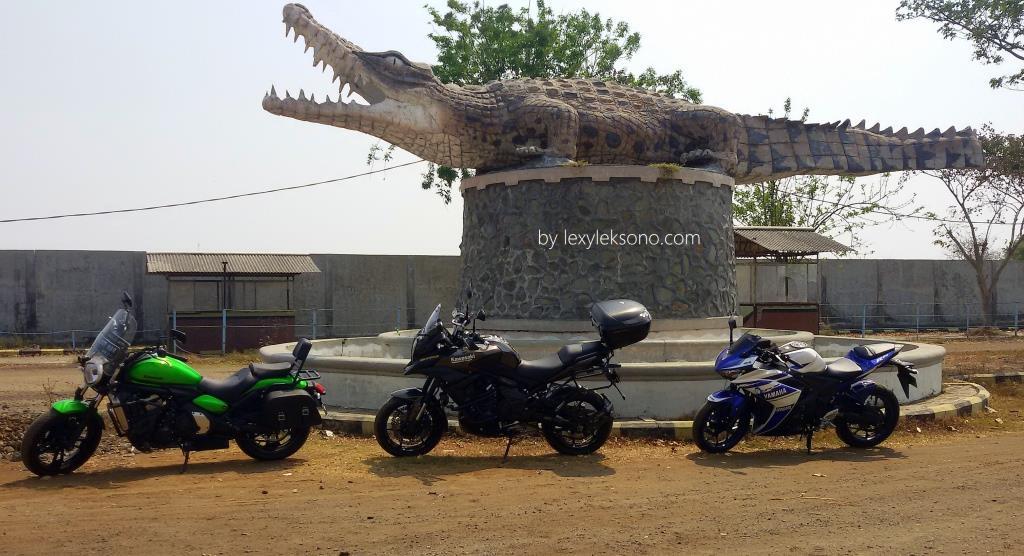 Tempat Penangkaran Buaya Tanjung Pasir Lexyleksono Gerbang Masuk Taman Kab