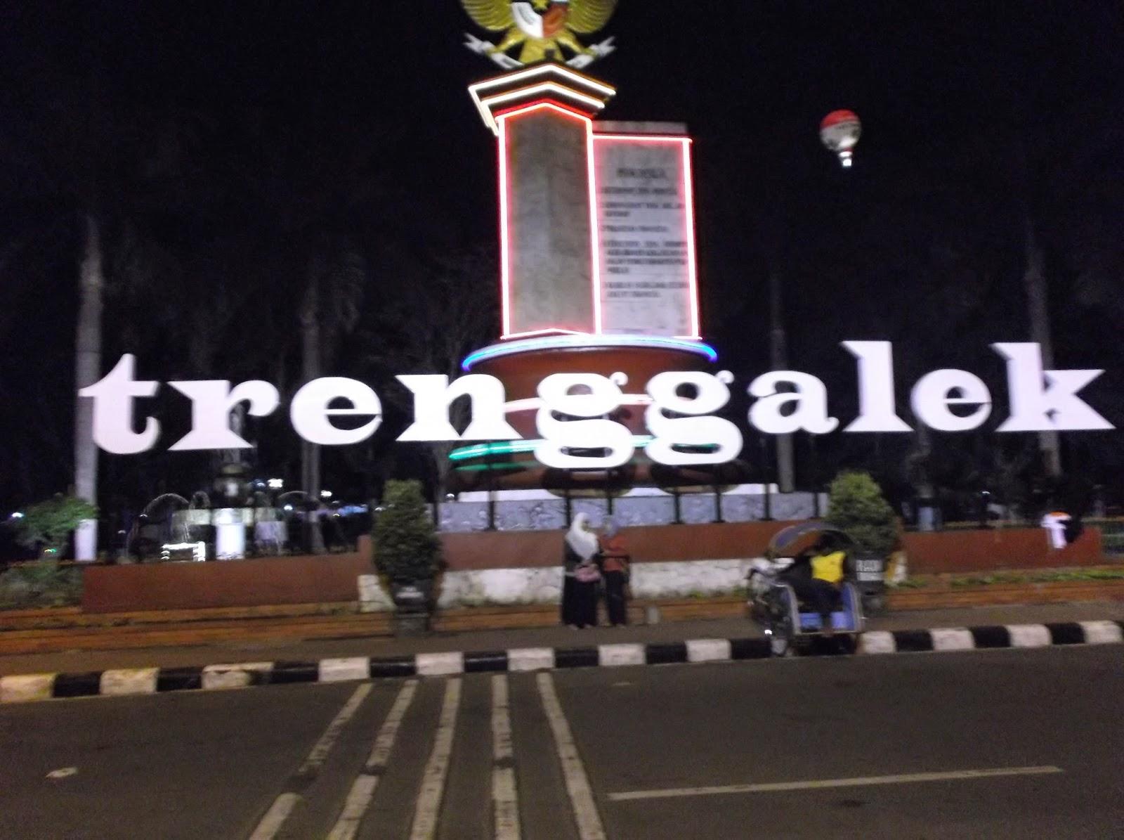 Amorelisensa Beach Mountain City Trenggalek Sebuah Kabupaten Provinsi Jawa Timur