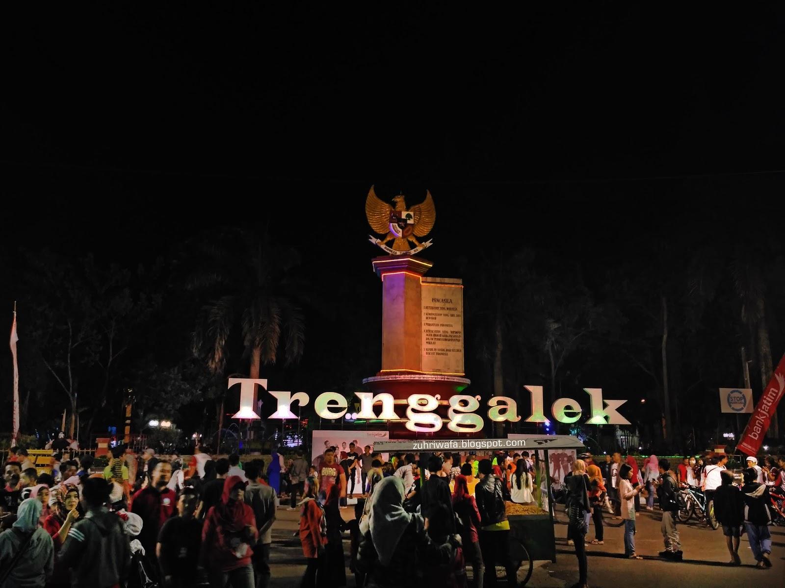 Mengunjungi Kemeriahan Trenggalek Street Carnival Event Terbesar Suasana Tsc Alun