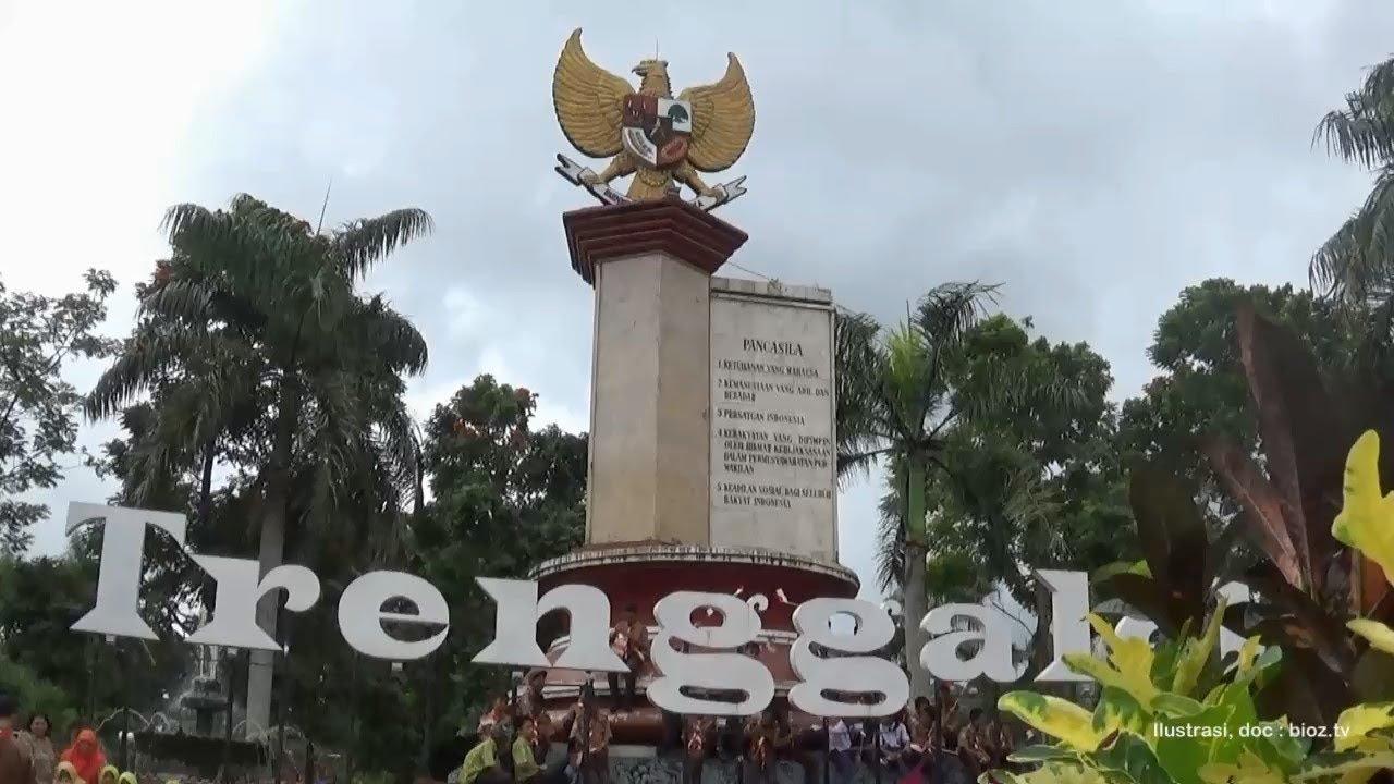 Warga Trenggalek Kehilangan Suasana Icon Tugu Pancasila Wajah Alun Bioz