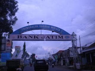 Wong Jowo Asal Usul Sejarah Kota Trenggalek Sebuah Kabupaten Sebelah
