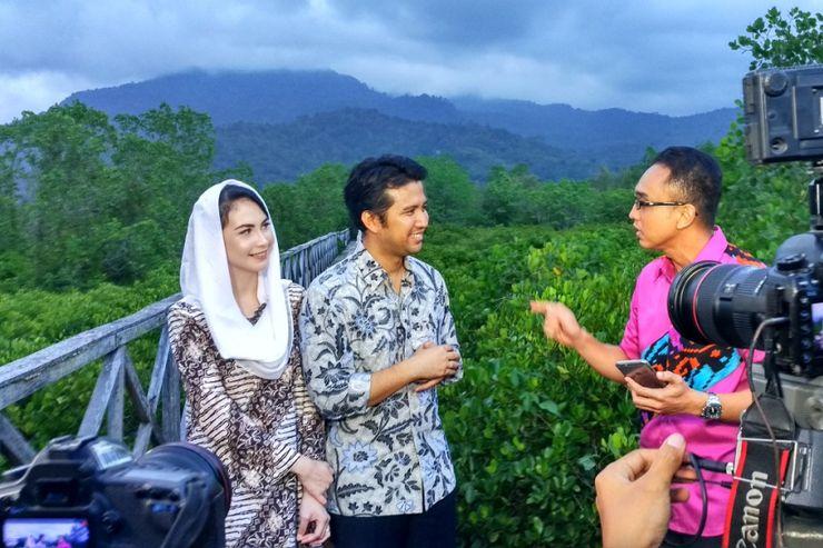 Hutan Bakau Cengkrong Trenggalek Lokasi Favorit Foto Prewedding Mangrove Pancer