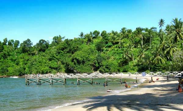 Indahnya 10 Tempat Wisata Kabupaten Trenggalek Pantai Karanggongso Damas Kab