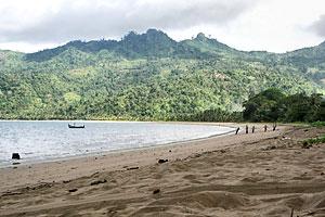 Pantai Damas Trenggalek Trip Jalan Kab