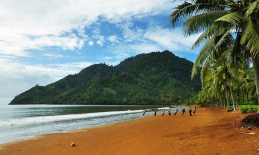 Pesona Keindahan Wisata Pantai Damas Trenggalek Daftar Tempat Kab