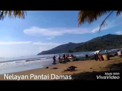 Trenggalek Nelayan Pantai Damas Jaring Tarik Youtube Kab