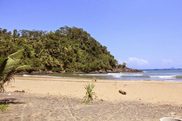 Wisata Pantai Blado Trenggalek Jawa Timur Daltonnet Terletak Desa Munjungan