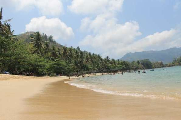 Wisata Trenggalek Visit Pantai Pasir Putih Jawa Timur Damas Kab