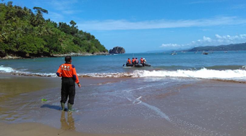 Nelayan Asal Pangandaran Hilang Terseret Ombak Pantai Konang Trenggalek Kab
