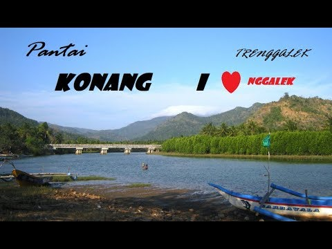 Pantai Konang Beach Trenggalek Story Youtube Kab