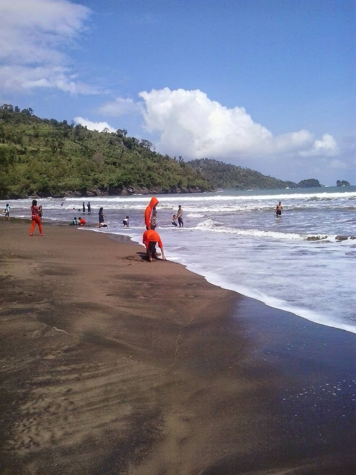 Pantai Konang Panggul Trenggalek Seputar Kota Kab