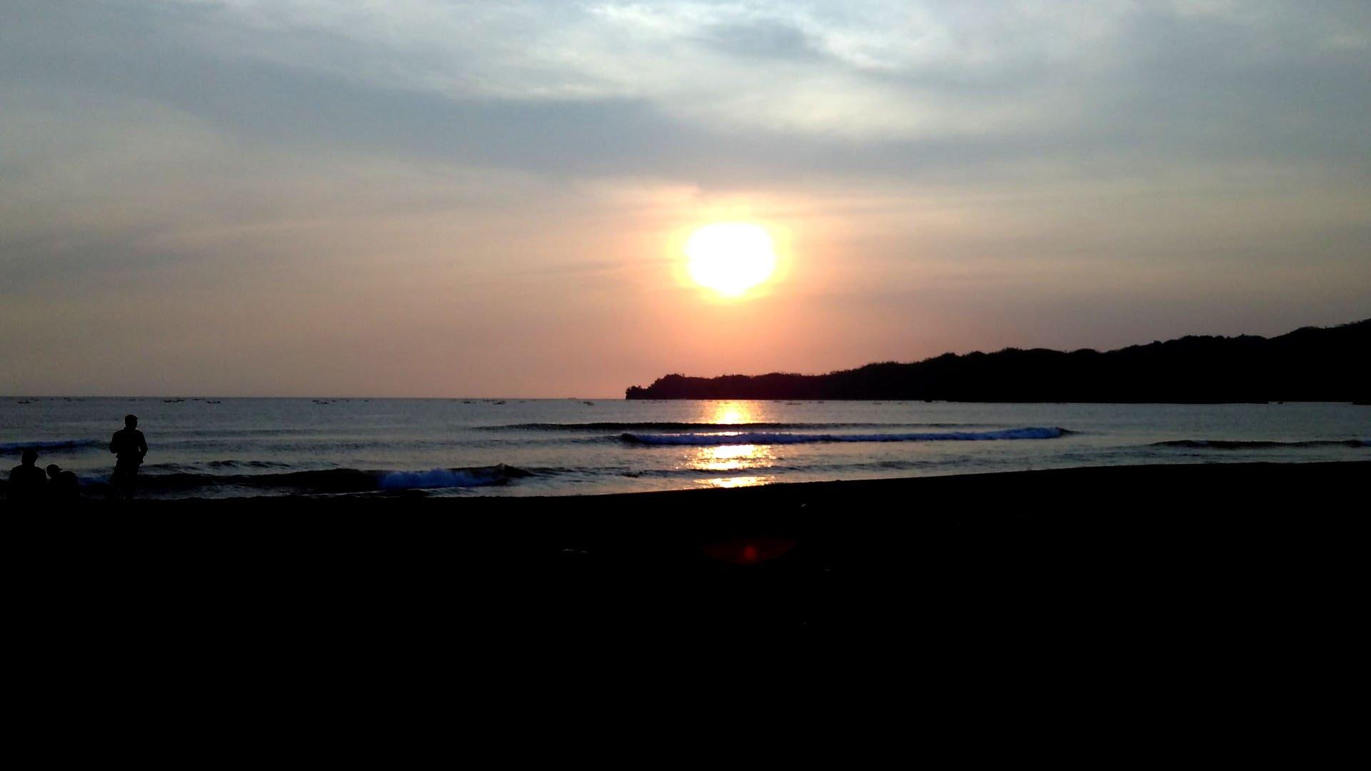 Sunset Pantai Konang Trenggalek Youtube Kab