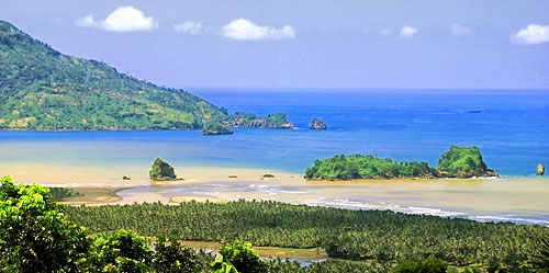 Trenggalek Tourism Real Coastal Area Presents Virgin Luas 1 205