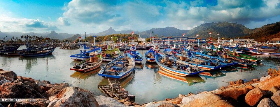 Eksotika Pariwisata Kab Trenggalek Kakang Mbakyu Letak Pantai Prigi Berada