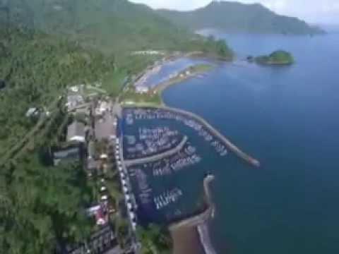 Indahnya Pantai Prigi Trenggalek Lihat Udara Youtube Kab