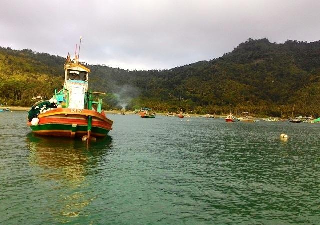 Kabupaten Trenggalek Mata Anak Timur Muksin Kota Nggalek Perahu Penangkap